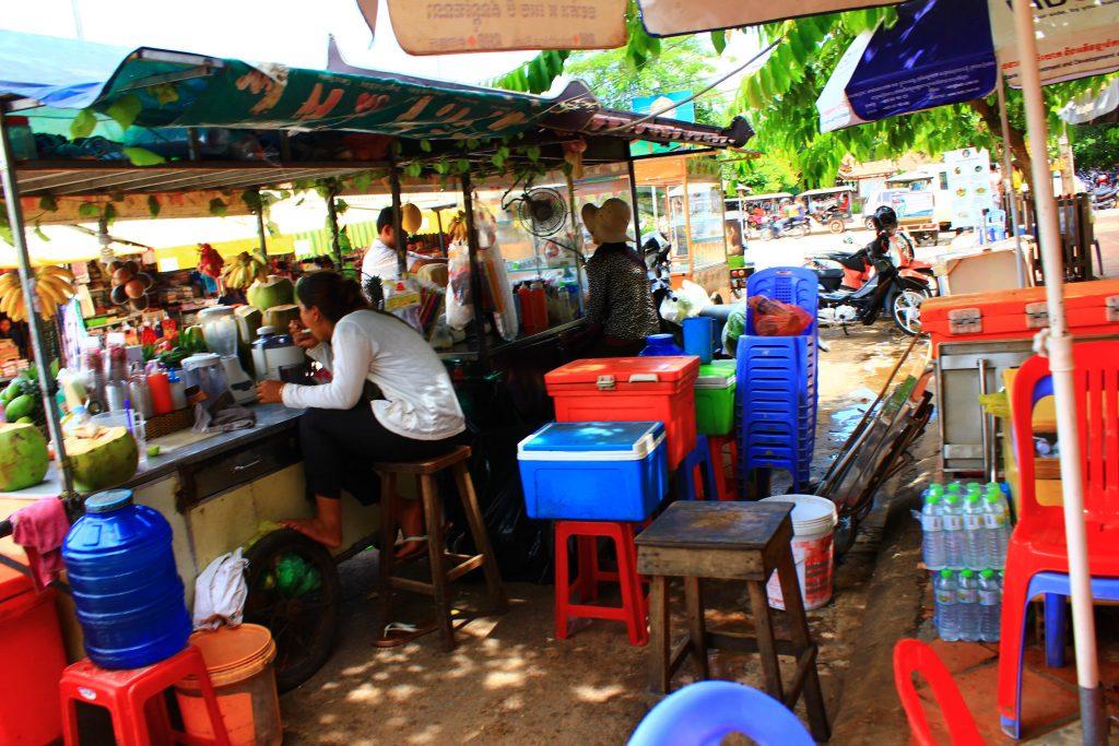 カンボジア マーケット